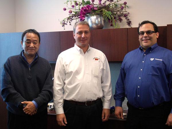 Garrod Hydraulics and TADANO partnership